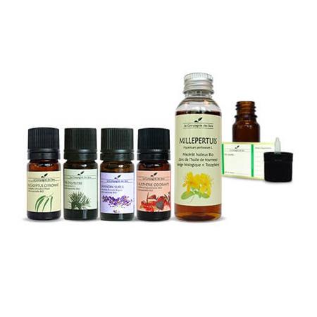 huile essentielle douleurs lombaires