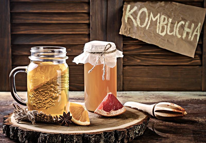 Les nombreux bienfaits du Kombucha