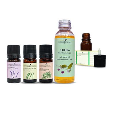 huile essentielle acné