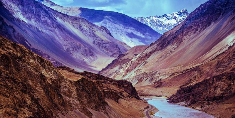 montagnes de l'himalaya