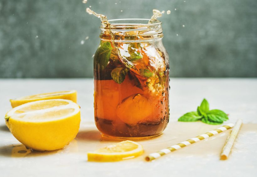 Recette de thé glacé maison, trop frais, trop bon !