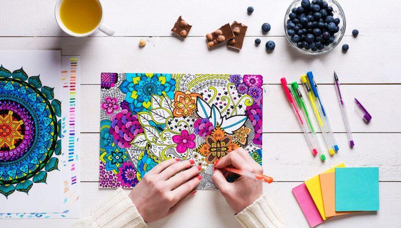 Coloriage anti stress : de l'art thérapie pour les adultes angoissés