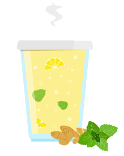 thé au gingembre