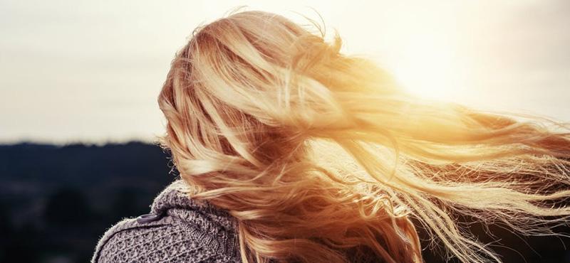 cheveux brillance
