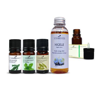 huile essentielle rhume