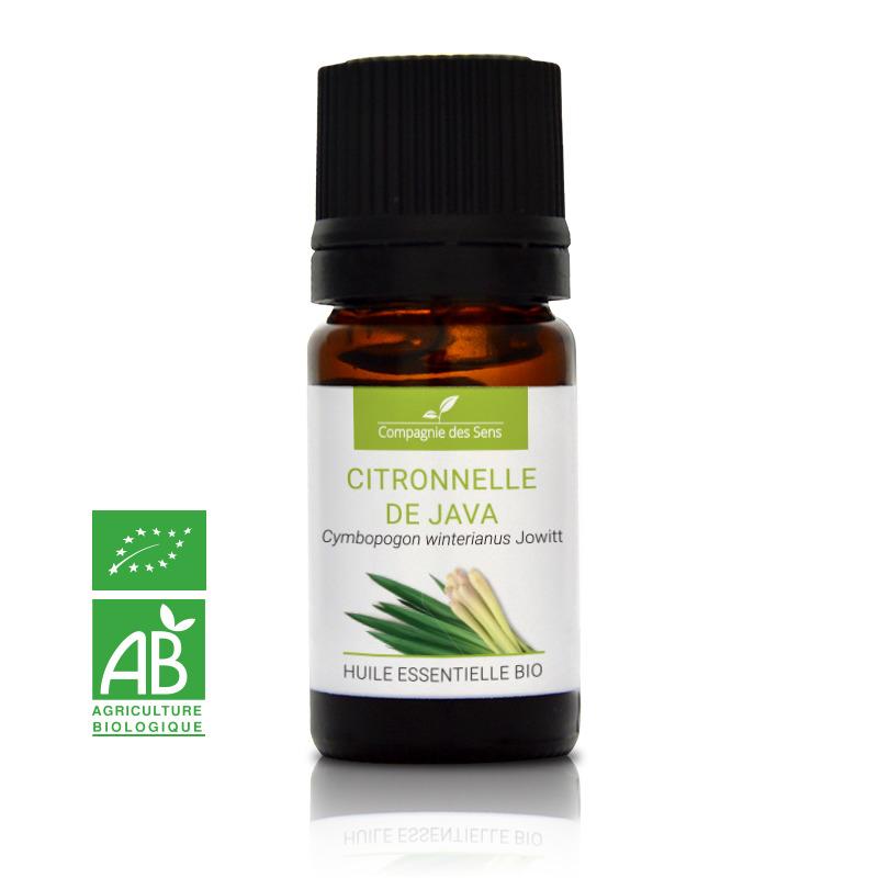 acheter huile essentielle de citronnelle bio