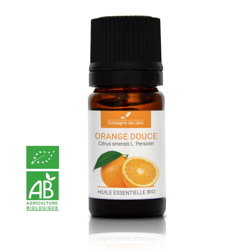 acheter huile essentielle d'orange douce bio