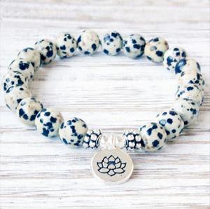 bracelet fleur de lotus