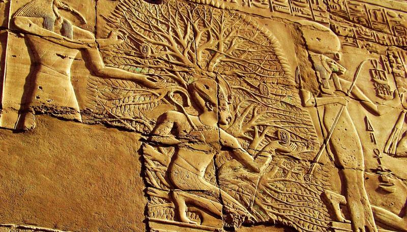 Égyptiens arbre de vie