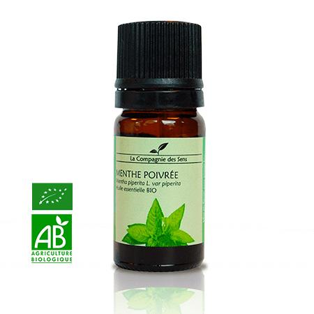 acheter huile essentielle de menthe poivrée bio