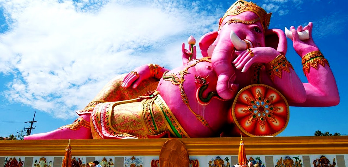 Dieu hindou tête elephant