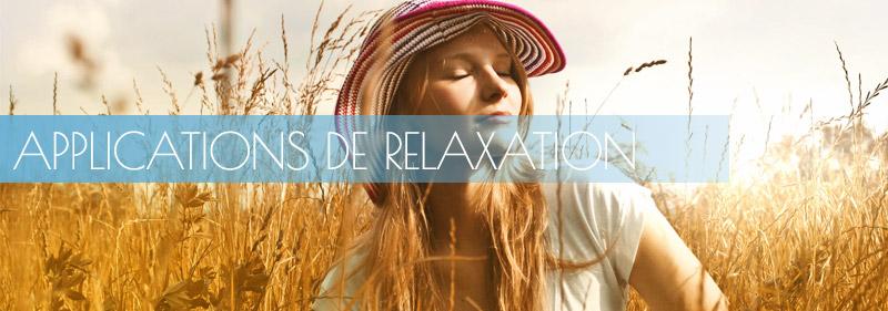 applications de relaxation