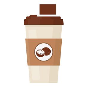 recette café à l'huile de coco