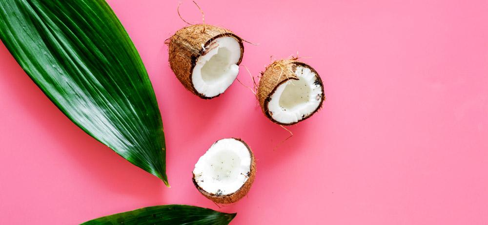 huile de coco peau