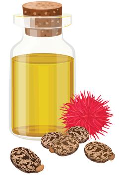 huile de ricin acné