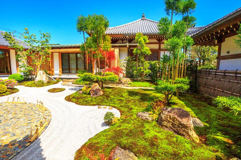jardin zen deco