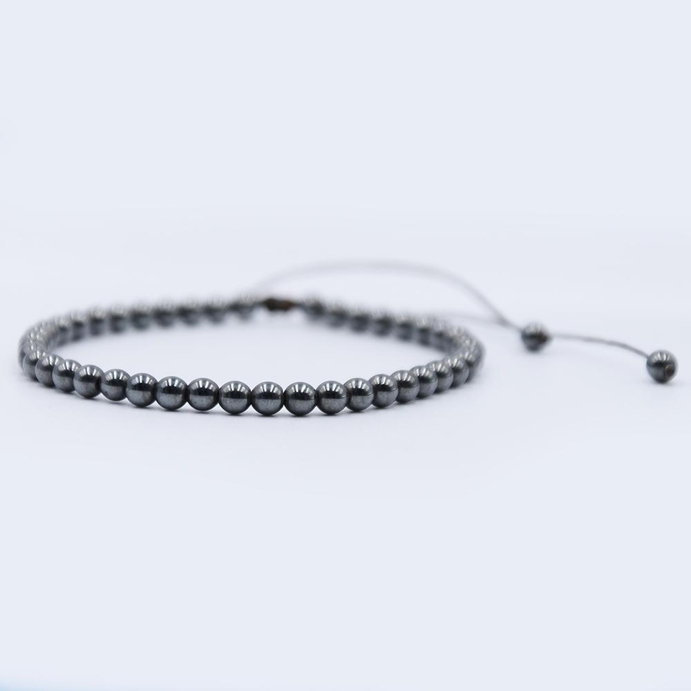 bracelet en pierre hematite