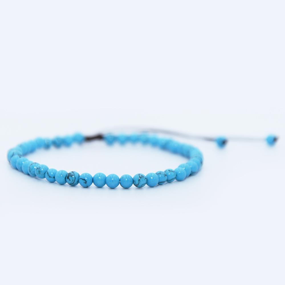 bracelet en pierre turquoise