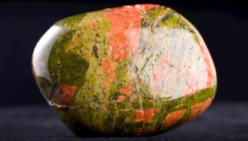 L'Unakite: la pierre de la guérison émotionnelle