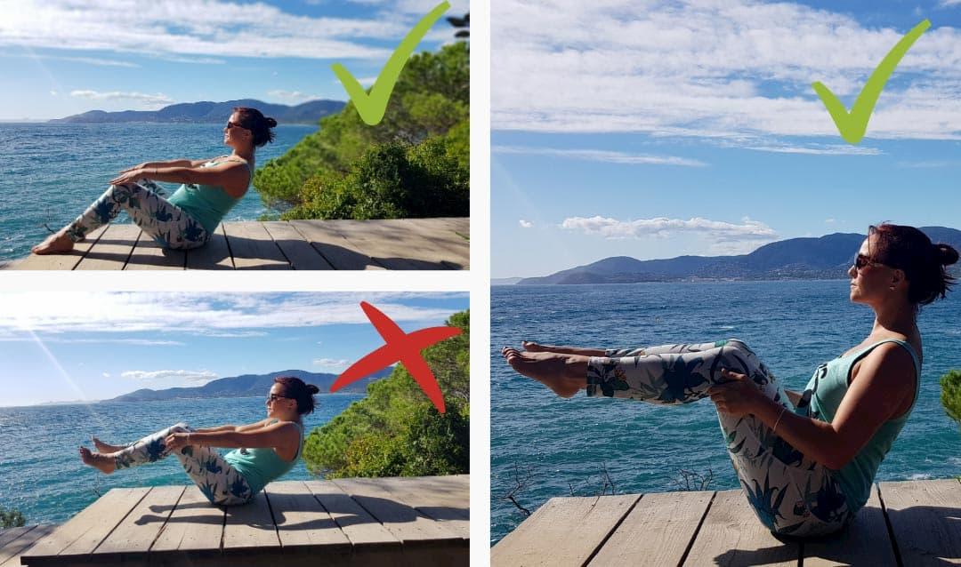 posture yoga debutant